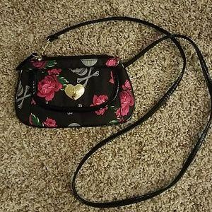 Betsy Johnson cross body mini purse